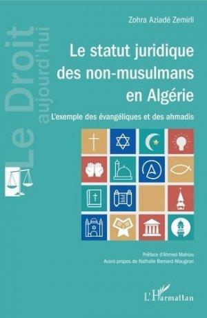 Le statut juridique des non-musulmans en Algérie - l'harmattan - 9782343214085 -
