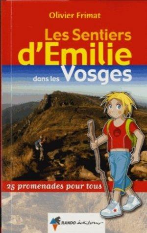 Les sentiers d'Émilie dans les Vosges - rando - 9782344006825 -