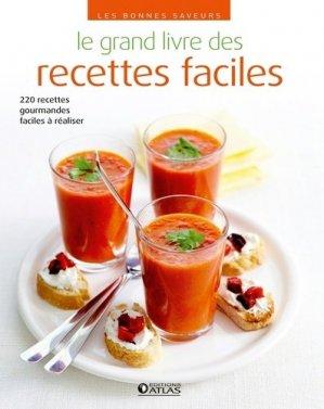 Le grand livre des recettes faciles - Glénat - 9782344010822 -