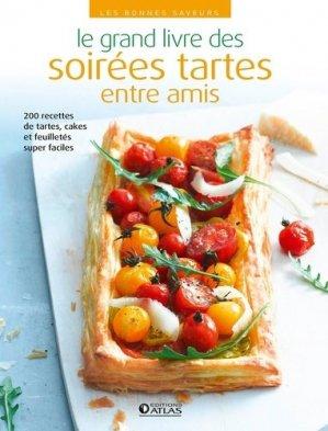 Le grand livre des soirées tartes entre amis - Glénat - 9782344022405 -