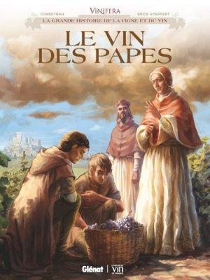 Le vin des Papes - Glénat - 9782344025680 -