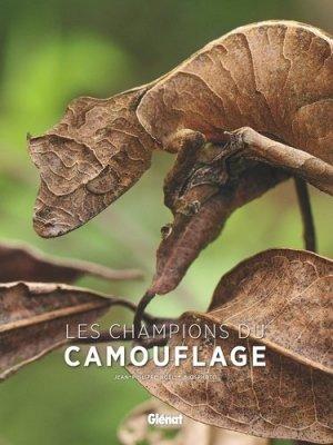 Les champions du camouflage - glenat - 9782344031346 -