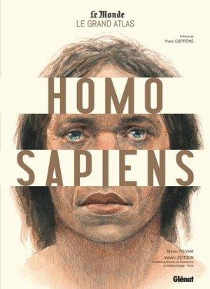 Le grand atlas Homo Sapiens - Glénat - 9782344039151 -
