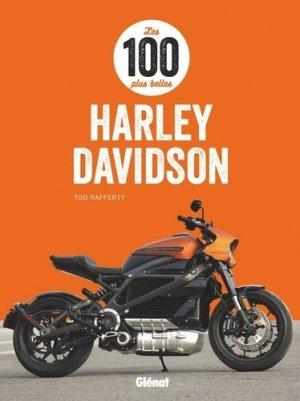 Les 100 plus belles Harley-Davidson - Glénat - 9782344043738 -