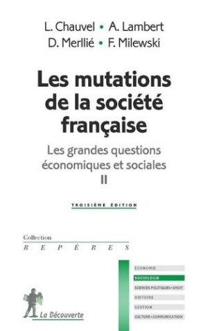 Les mutations de la société française - La Découverte - 9782348042812 -