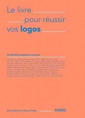 Le livre pour réussir vos logos. 50 identités graphiques iconiques - Editions Pyramyd - 9782350174501 - https://fr.calameo.com/read/005370624e5ffd8627086