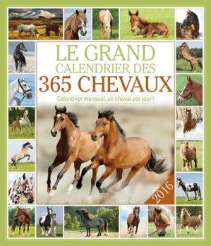Le grand calendrier des 365 chevaux 2016 - 365 - 9782351556603 -