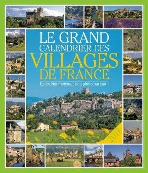 Le grand calendrier des villages de France - 365 - 9782351558454 -