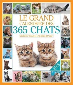 Le grand Calendrier des 365 chats - 365 - 9782351559055 -