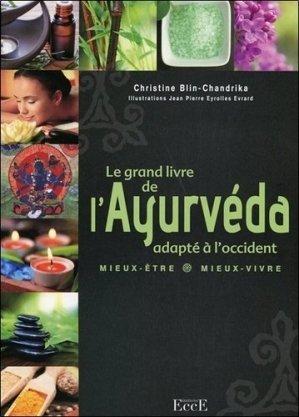Le grand livre de l'Ayurvéda, adapté à l'occident - ecce - 9782351952450 -