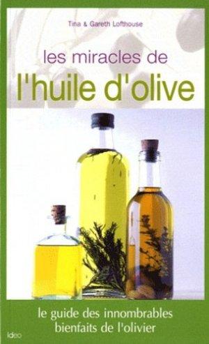 Les miracles de l'huile d'olive - ideo - 9782352885535 -