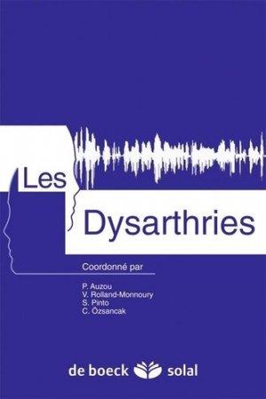 Les dysarthries + CD - solal - 9782353270217