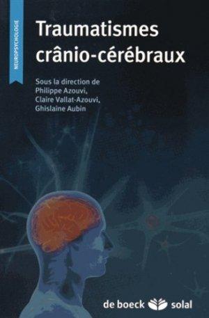 Les traumatismes crânio-cérébraux - de boeck superieur - 9782353273249