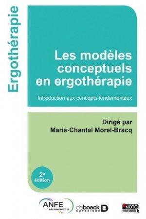 Les modèles conceptuels en ergothérapie-de boeck superieur-9782353273775