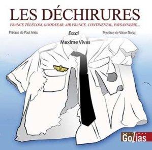 Les déchirures - Editions Golias - 9782354722432 -