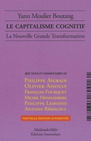 Le capitalisme cognitif - amsterdam - 9782354800161 -