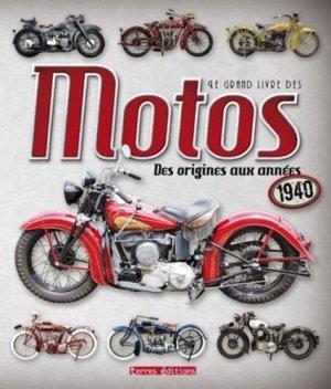 Le grand livre des motos - terres - 9782355302725 -