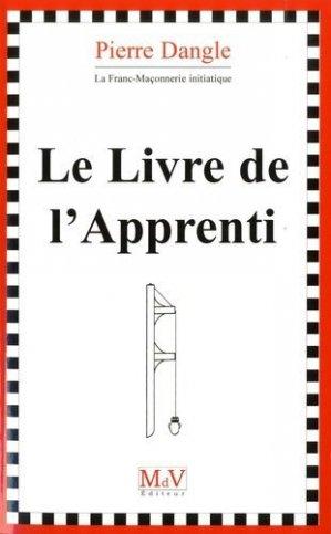 Le livre de l'apprenti - Maison de vie éditeur - 9782355993145 -