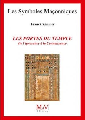 Les portes du temple - Maison de vie éditeur - 9782355993374 -