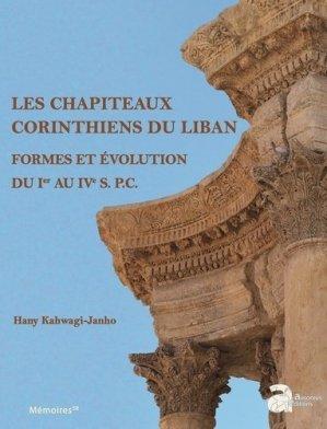 Les chapiteaux corinthiens du Liban - Ausonius - 9782356133328 -