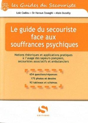 Le guide du secouriste face aux souffrances psychiques - setes - 9782356400932 -