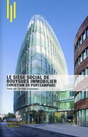 Le siège social de Bouygues Immobilier - archibooks - 9782357330825 -