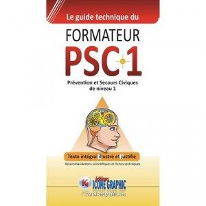 Le Guide technique du formateur PSC1 - Icone graphic - 9782357386587 -