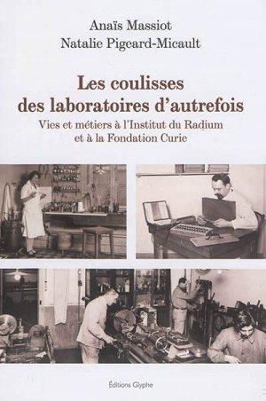 Les Coulisses des laboratoires d'autrefois - glyphe - 9782358151986 -