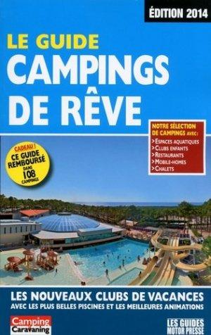 Le guide campings de rêve - motor presse - 9782358390330 -