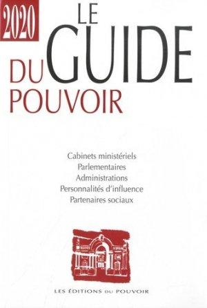 Le guide du pouvoir. Edition 2020 - Editions du Pouvoir - 9782358400343 -