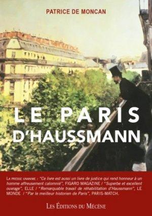Le Paris d'Haussmann - du mecene - 9782358960656 -