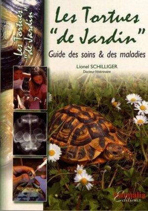 Les tortues de 'jardin' - animalia - 9782359090758 -