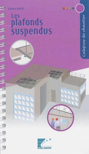 Les plafonds suspendus - sebtp - 9782359170498 -