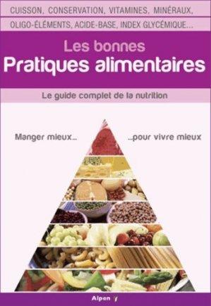 Les bonnes pratiques alimentaires - alpen - 9782359341430 -