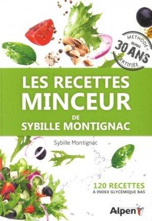 Les recettes minceur de Sybille Montignac - alpen - 9782359344301 -
