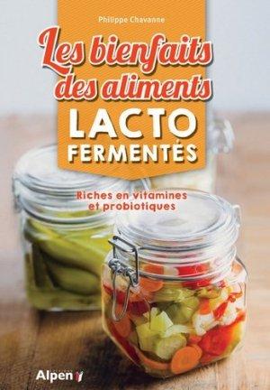 Les bienfaits des aliments lactofermentes - alpen - 9782359344738 -
