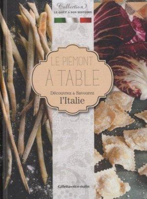 Le Piémont à table - gilletta - 9782359560459 -
