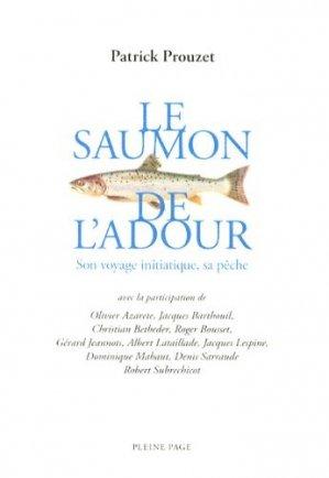 Le saumon de l'Adour - pleine page - 9782360420186 -