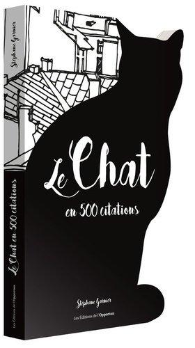 Le chat en 500 citations - de l'opportun - 9782360755363 -