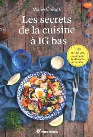 Les secrets de la cuisine à IG bas - terre vivante - 9782360982431 -