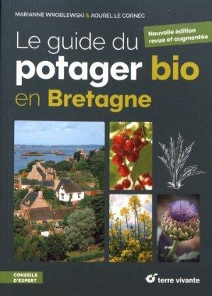 Le guide du potager bio en Bretagne - terre vivante - 9782360984480 -