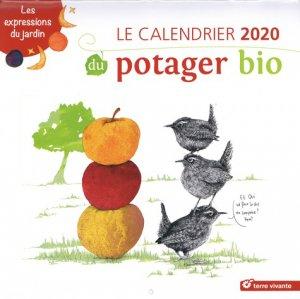 Le calendrier du potager bio - terre vivante - 9782360984541