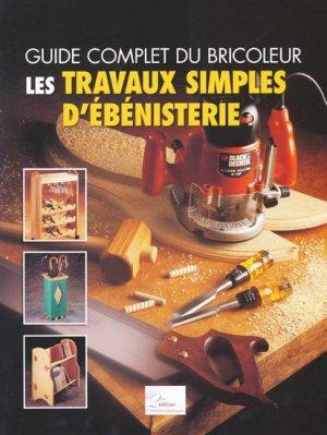 Les travaux simples d'ébénisterie - 2eme - 9782361210335 -
