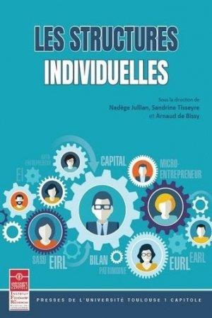 Les structures individuelles - Institut fédératif de recherche - 9782361702205 -