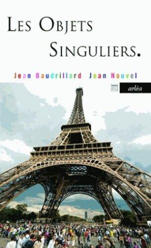 Les Objets singuliers - arlea - 9782363080103 -