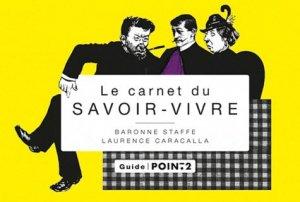 Le carnet du savoir-vivre - Pointdeux - 9782363941060 -