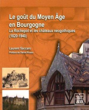 Le goût du Moyen Age en Bourgogne - editions universitaires de dijon - 9782364411654 -
