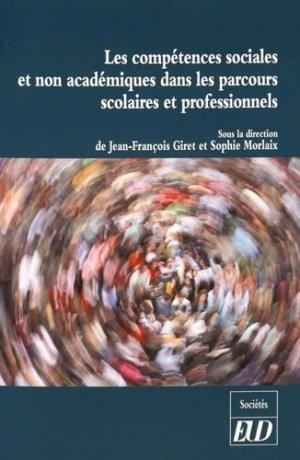 Les compétences sociales et non académiques dans les parcours scolaires et professionnels - Editions Universitaires de Dijon - 9782364411760 -