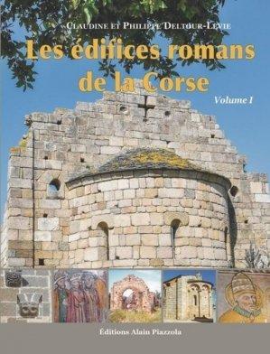 Les édifices romans de la Corse - alain piazzola - 9782364791015 -