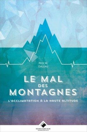 Le mal des montagnes - du mont-blanc - 9782365450751 -